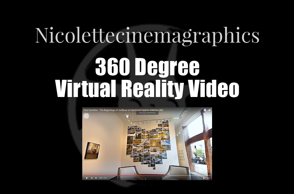 Nicolettecinemagraphics - 360 degree Virtual Reality Video